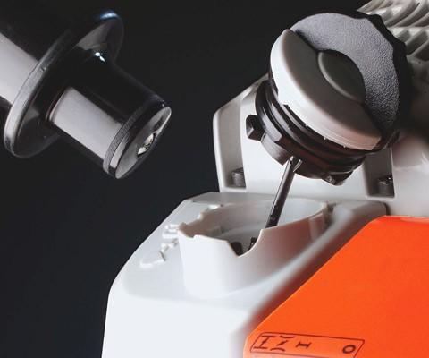 Werkzeugloser Tankverschluss