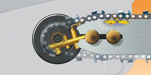 Ematic-Kettenschmiersystem