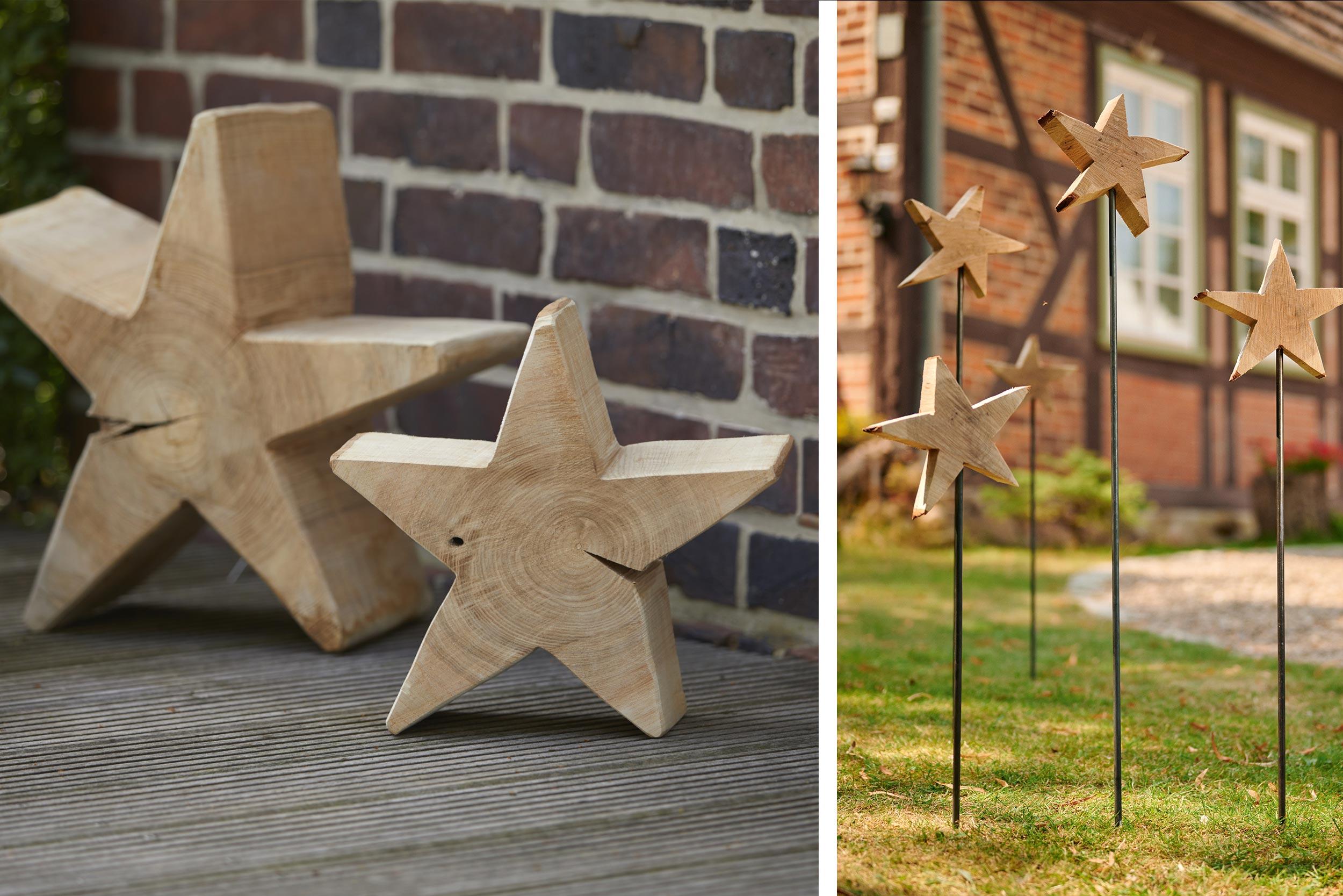 Sterne aus Holz selber machen   so geht's   STIHL