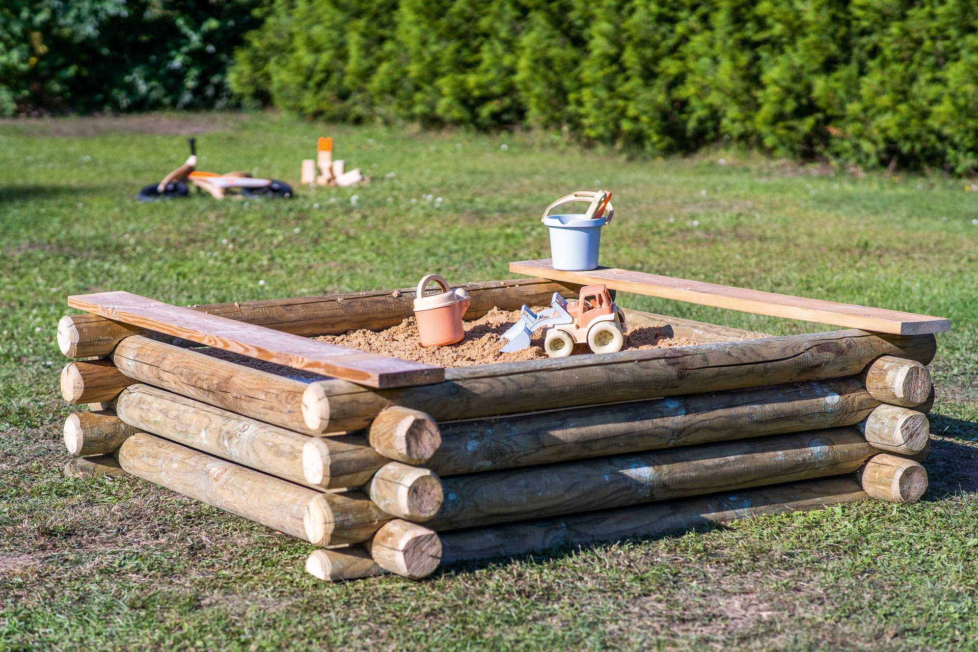 11+ Sandkasten selber bauen Anleitung   STIHL Fotografie
