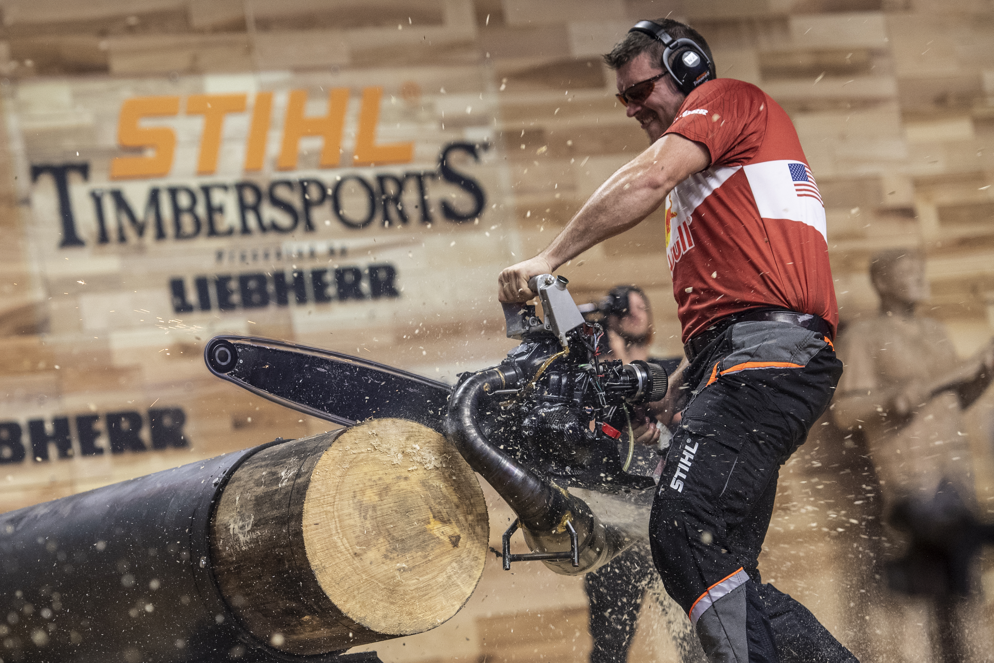 Disziplin Hot Saw TIMBERSPORTS® Event